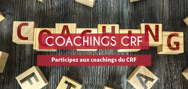 Les coachings du CRF